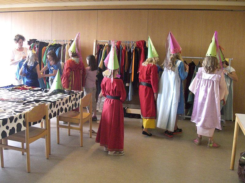 Burgfräulein Kostümierung