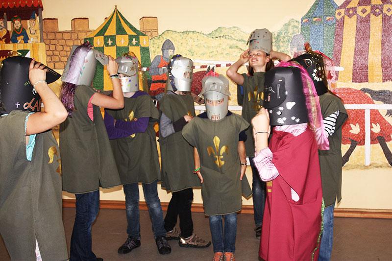Ritter Kostümierung