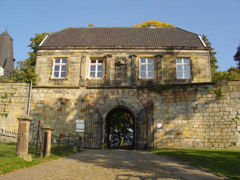 Burg Bentheim Eingang