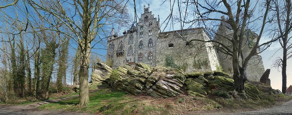 Burg west ansicht